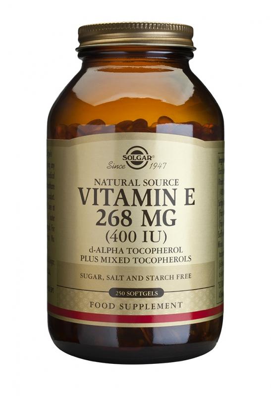 Značky - Solgar Vitamín E 400 iu cps. 250