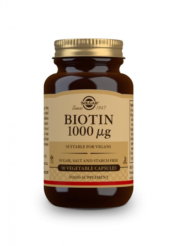 Značky - Solgar Biotin 1000 mcg cps. 50