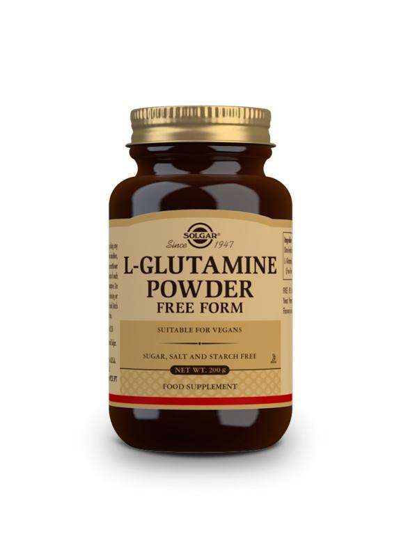 Značky - Solgar L-Glutamine prášek 200g