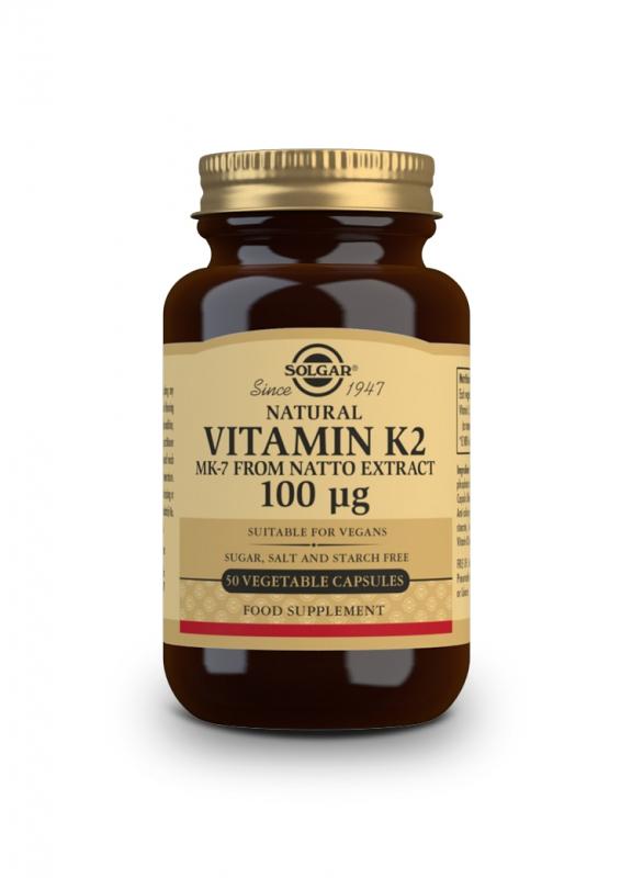 Značky - Solgar Vitamín K2 100 ug cps. 50