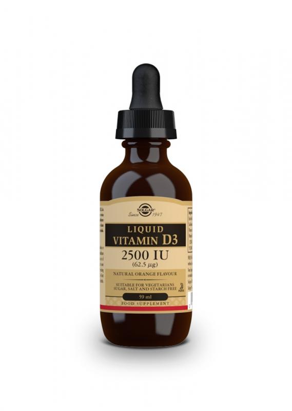 Značky - Solgar Vitamin D3 – tekutý 59 ml