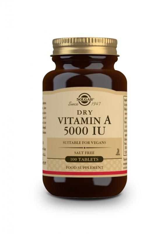 Značky - Solgar Vitamin A 5000 IU tbl. 100