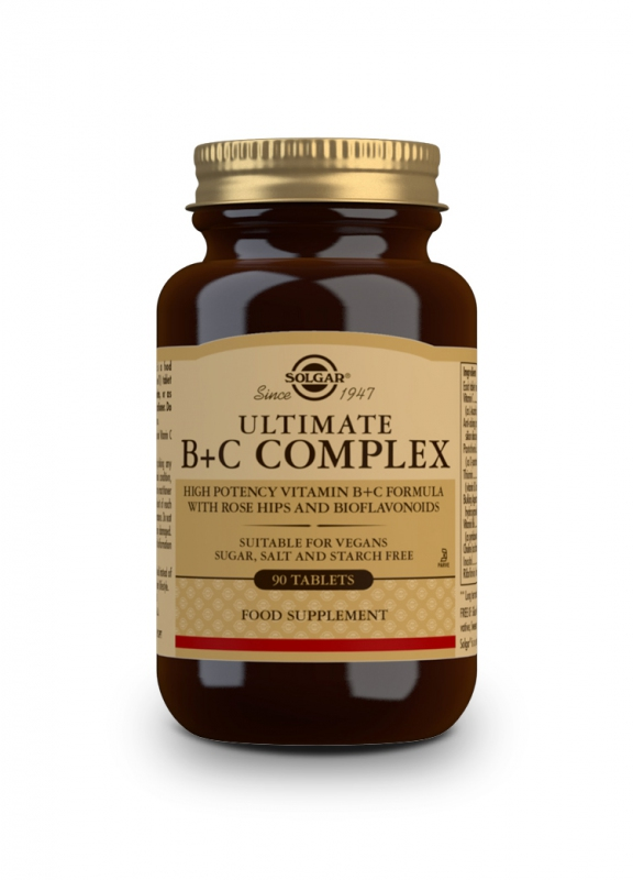Značky - Solgar Super B+C komplex tbl. 90