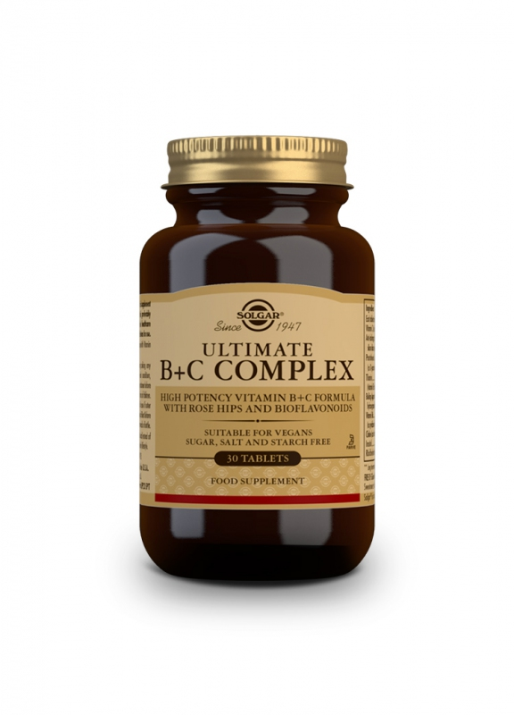 Značky - Solgar Super B+C komplex tbl. 30