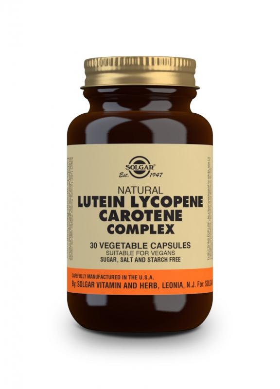 Značky - Solgar Lutein Lykopen Karoten komplex cps. 30