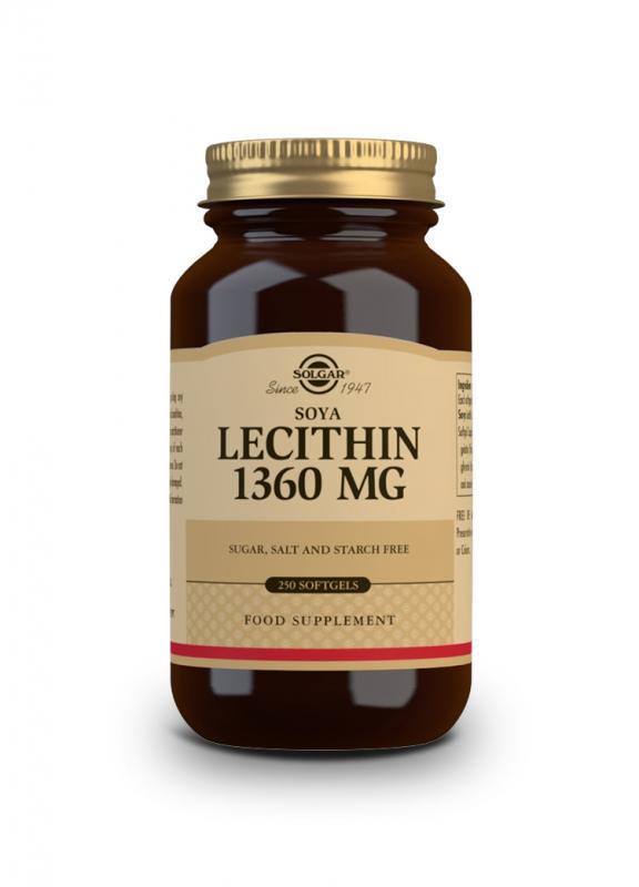 Značky - Solgar Lecitin 1360mg cps. 250