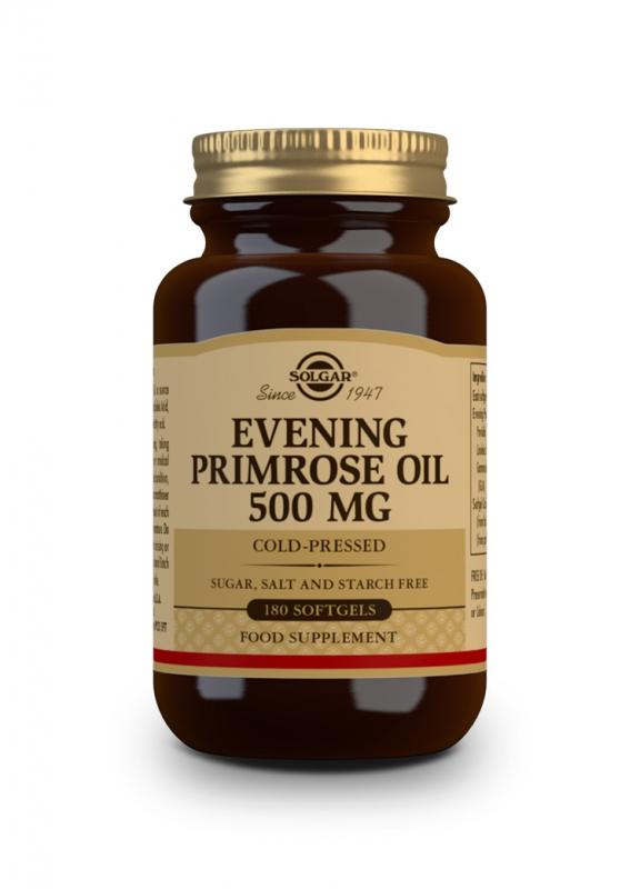 Značky - Solgar Pupalkový olej 500mg cps. 180
