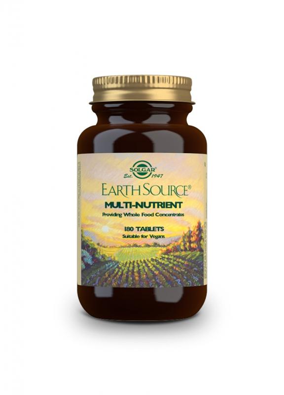 Značky - Solgar EARTH SOURCE – zdroj přírodních živin tbl. 180