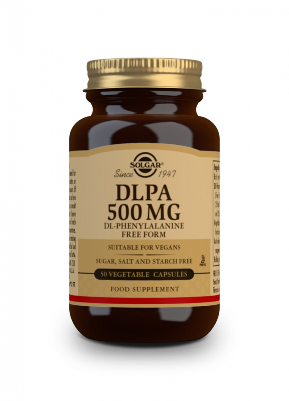 Značky - Solgar DLPA 500mg cps. 50