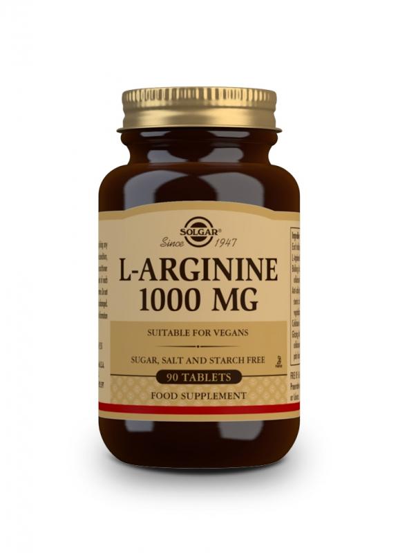 Značky - Solgar L-Arginin 1000 mg tbl. 90