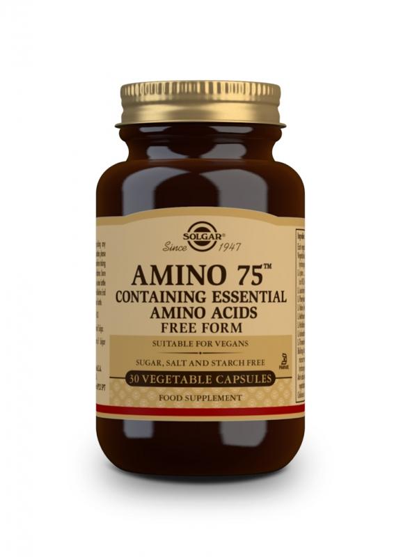 Značky - Solgar Amino 75 – aminokyseliny cps. 30