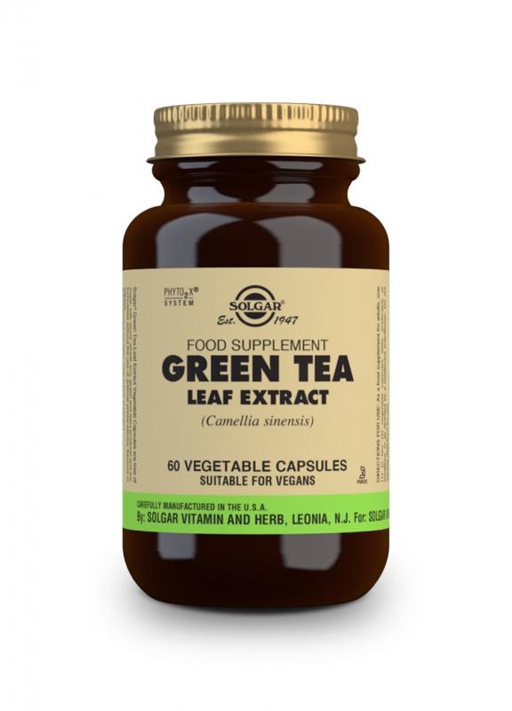Značky - Solgar Green tea – Zelený čaj cps. 50