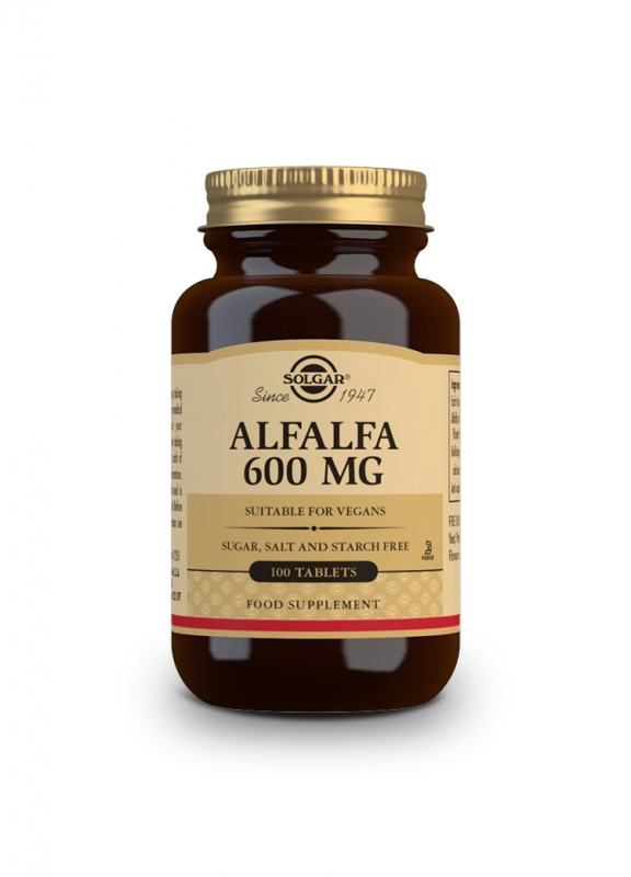 Značky - Solgar Alfalfa 600mg tbl. 100