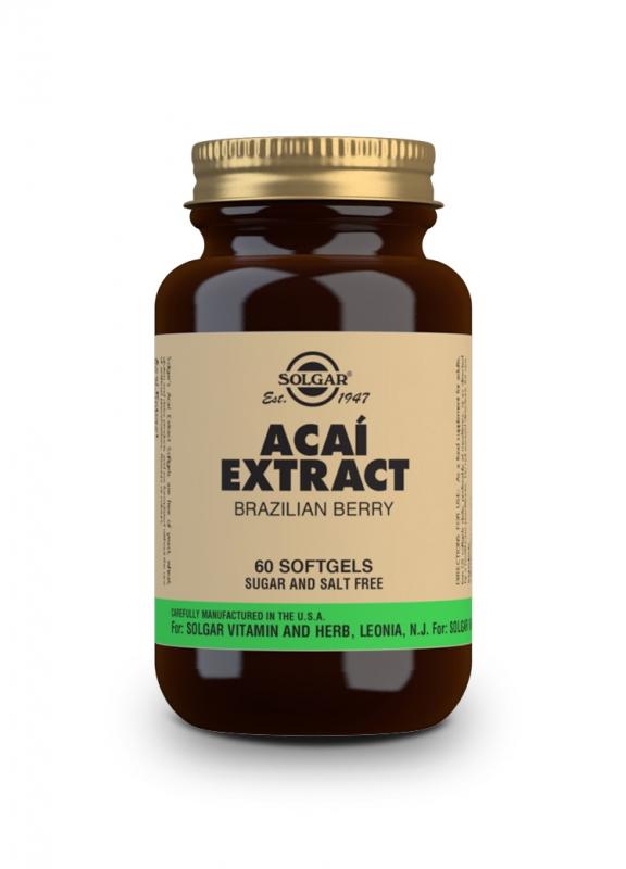 Značky - Solgar Acai Extrakt cps. 60