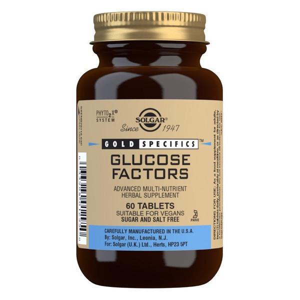 Značky - Solgar Gold specifics Glukózový faktor tbl. 60