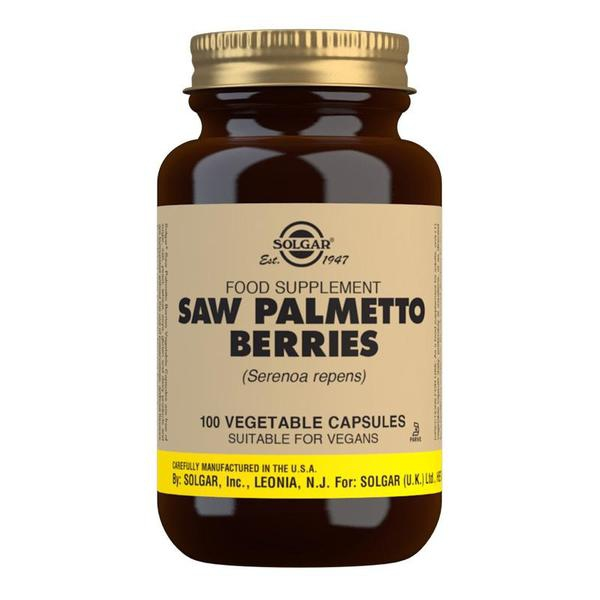 Značky - Solgar Saw Palmetto cps. 100