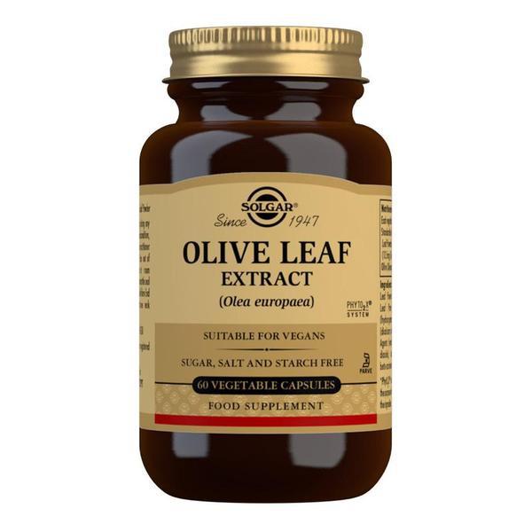 Značky - Solgar Oliva – extrakt z olivových listů cps. 60