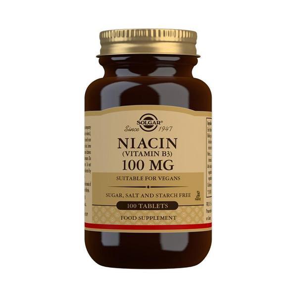 Značky - Solgar Niacin 100 mg tbl. 100