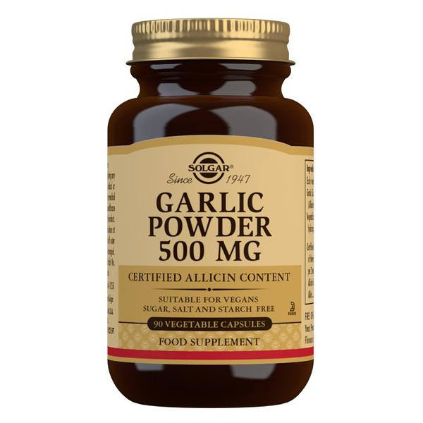 Značky - Solgar Česnekový prášek 500 mg cps. 90