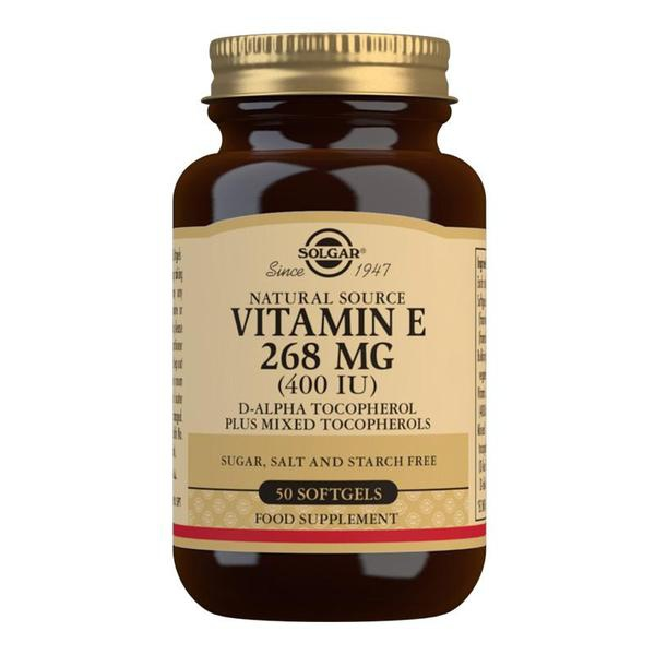 Značky - Solgar Vitamín E 400 iu cps. 50