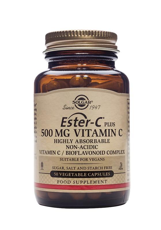 Značky - Solgar Vitamín C - Ester-C Plus 500 mg 50 tbl