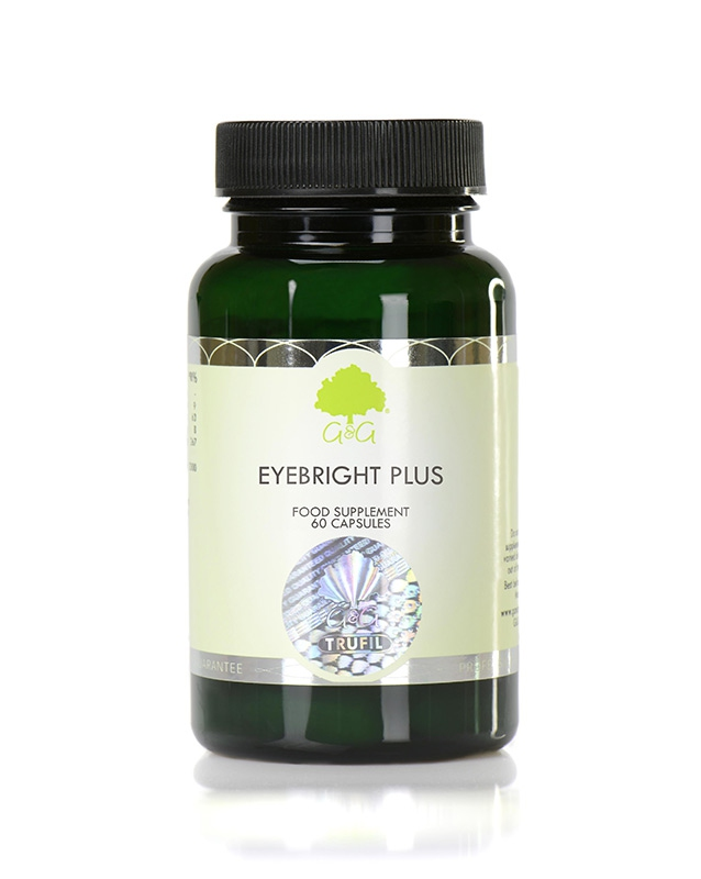 Značky - G&G Vitamins - Zdravé oči - EYEBRIGHT PLUS 60 cps