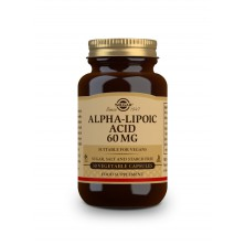 Solgar ALA 60mg – Kyselina alfa lipoová cps. 30