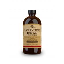 Solgar L-karnitin 1500 mg – tekutý s přírodní citrónovou příchutí 473 ml