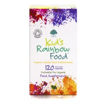 G&G Vitamins - Bio ORGANIC KID'S RAINBOW FOOD 120 cps
